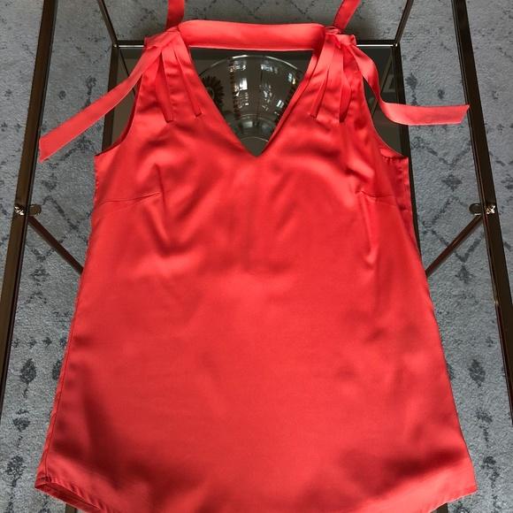 a679dabd5a8ca7 Reiss Tops   Coralpink Silk Blouse   Poshmark